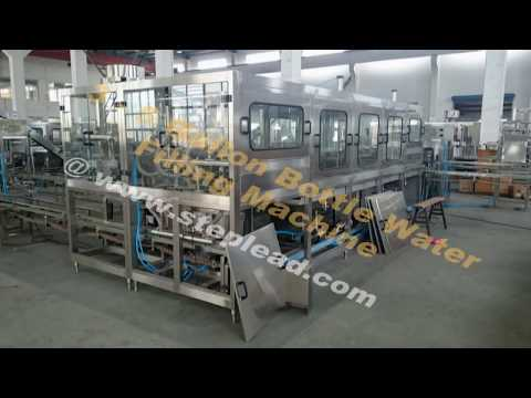 3 gallon 5 gallon water bottle washing filling capping machine fully automatic mineral water bottle