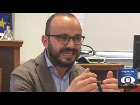 Conferenza stampa Sindaco D'Alò, discarica Torre Caprarica