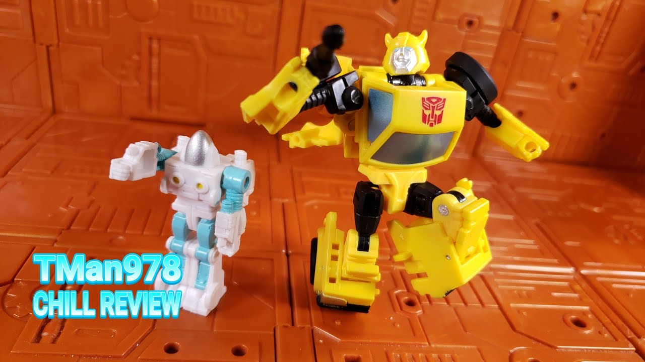 Transformers WFC Buzzworthy Bumblebee Spike Witwicky Core Class 2 Pack CHILL REVIEW