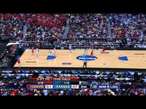 2008-03-30 NCAAB - Kansas - (1) vs Davidson (10) 2nd Half