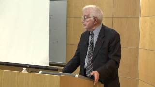 Provost Lecture - Immanuel Wallerstein: Borders, Borders, Everywhere, and Not a Drop to Drink