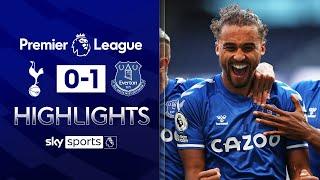 Calvert-Lewin's bullet header sinks lacklustre Spurs | Tottenham 0-1 Everton | EPL Highlights