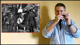 "HARMONICA - western  "" JOHNNY GUITAR "" musique de film"