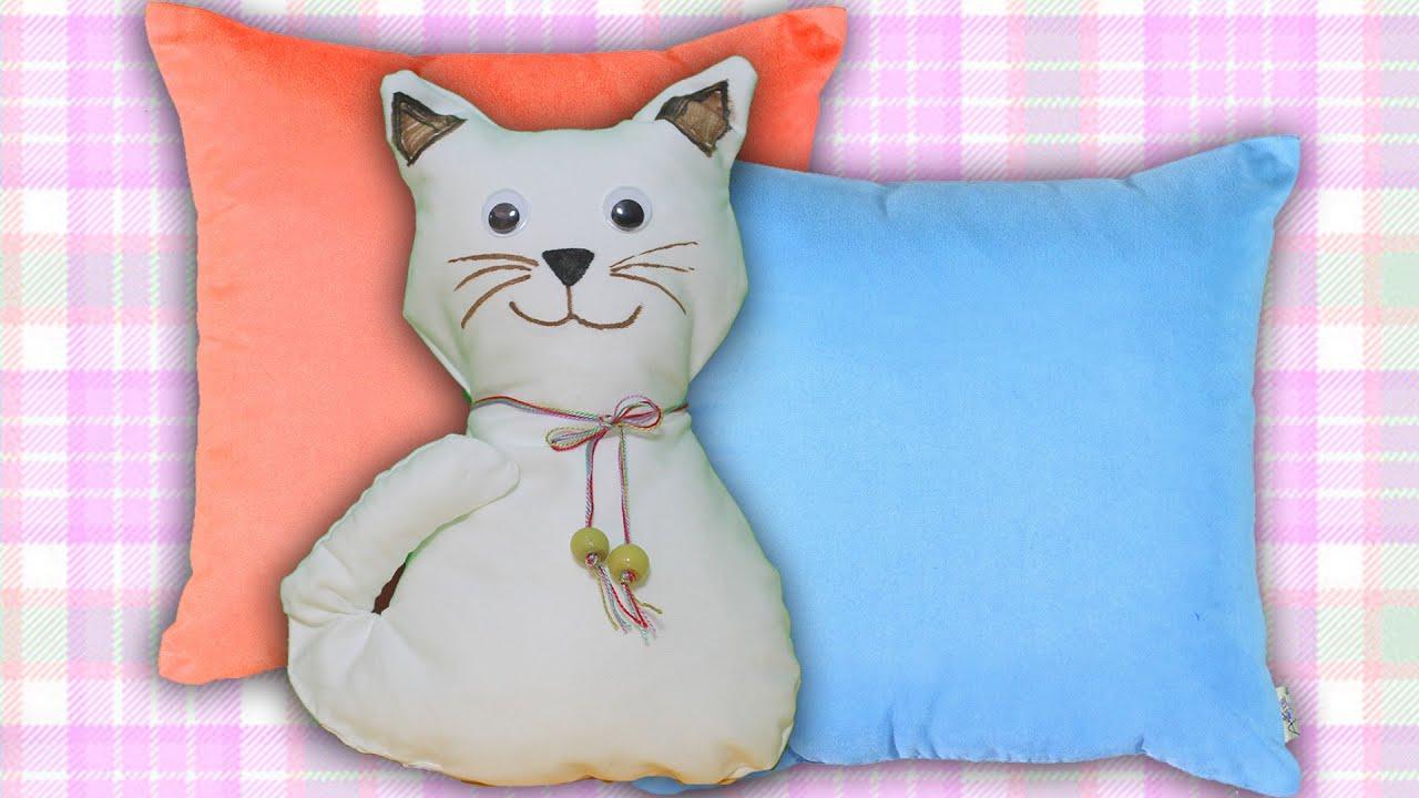Kedi Yastık Yapımı Nasıl Yapılır Boya Boya Youtube