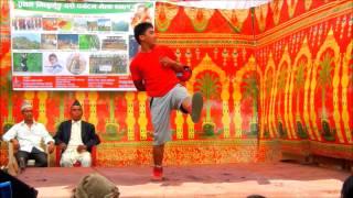 Mai Nache Chamchami (Nepathya) - Dance by Rupesh Raj Rana Magar (MJ)