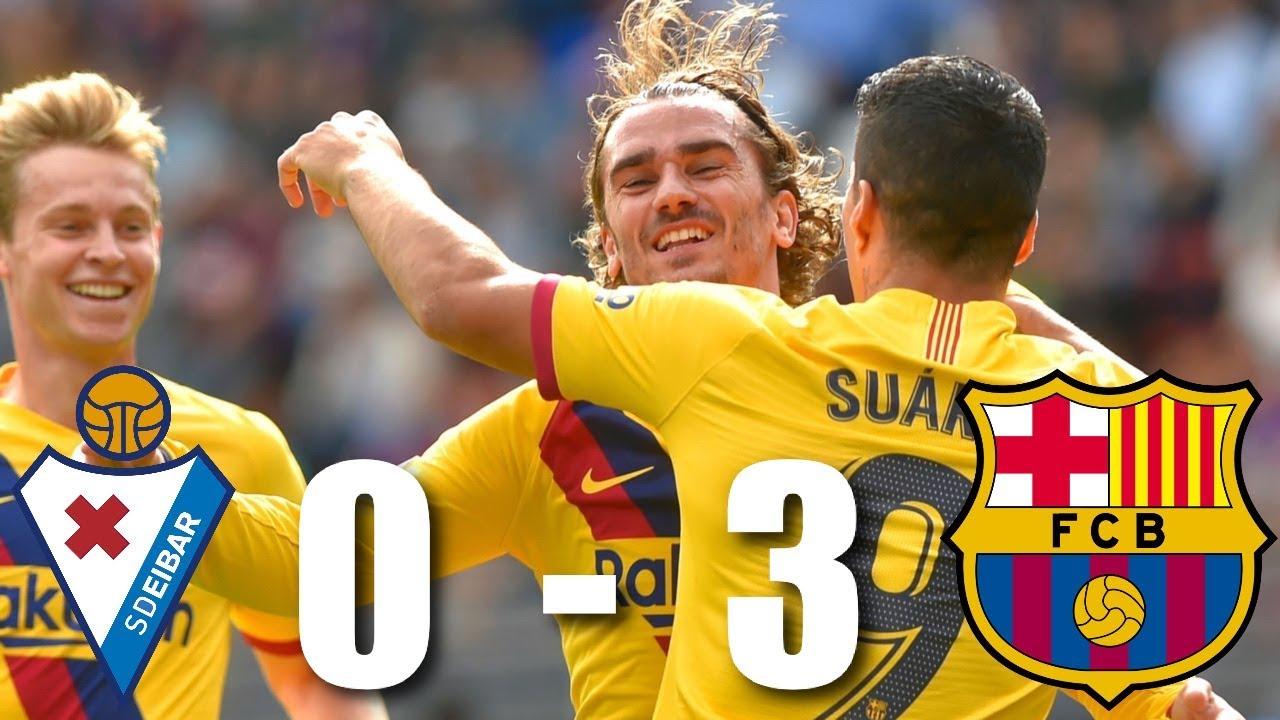 Eibar vs Barcelona 0-3, La Liga 2019/20 - MATCH REVIEW ...