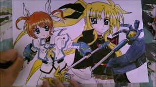 【Speed Drawing】Magical Girl Lyrical Nanoha --Take A Shot