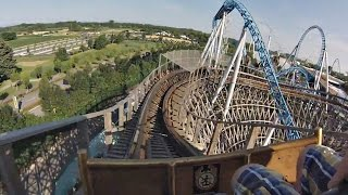 Wodan timburcoaster onride video aus dem europa park in rust bei freiburg 2016. gci holzachterbahn timbur coaster 2016.__besucht uns a...