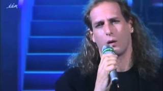 Michael Bolton - How am I supposed to live without you (1990 Belgian TV)