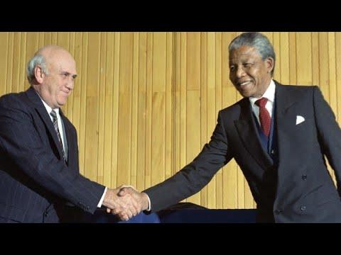 """De Klerk : """"Mandela m"""