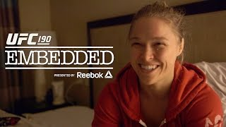 UFC 190 Embedded: Vlog Series – Episode 2