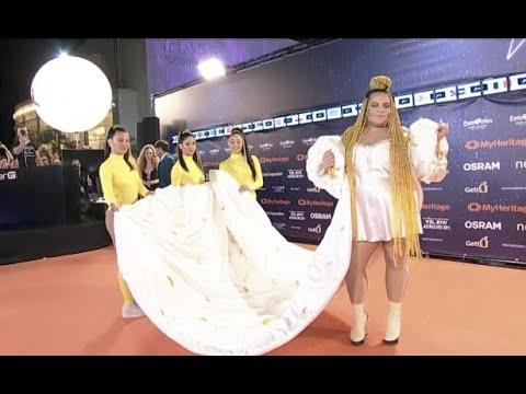 Eurovision 2019 Stars Arrive on 'Orange' Carpet in Tel Aviv Mp3