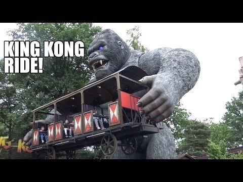 Weird King Kong Ride POV!  Bobbejaanland Belgium