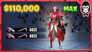Spending $110,000 UC on BLOOD RAVEN X-Suit   PUBG MOBILE