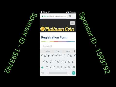 *Platinum Coin me Registration our Mining pool active Kaise kare PLT Coin full Information*