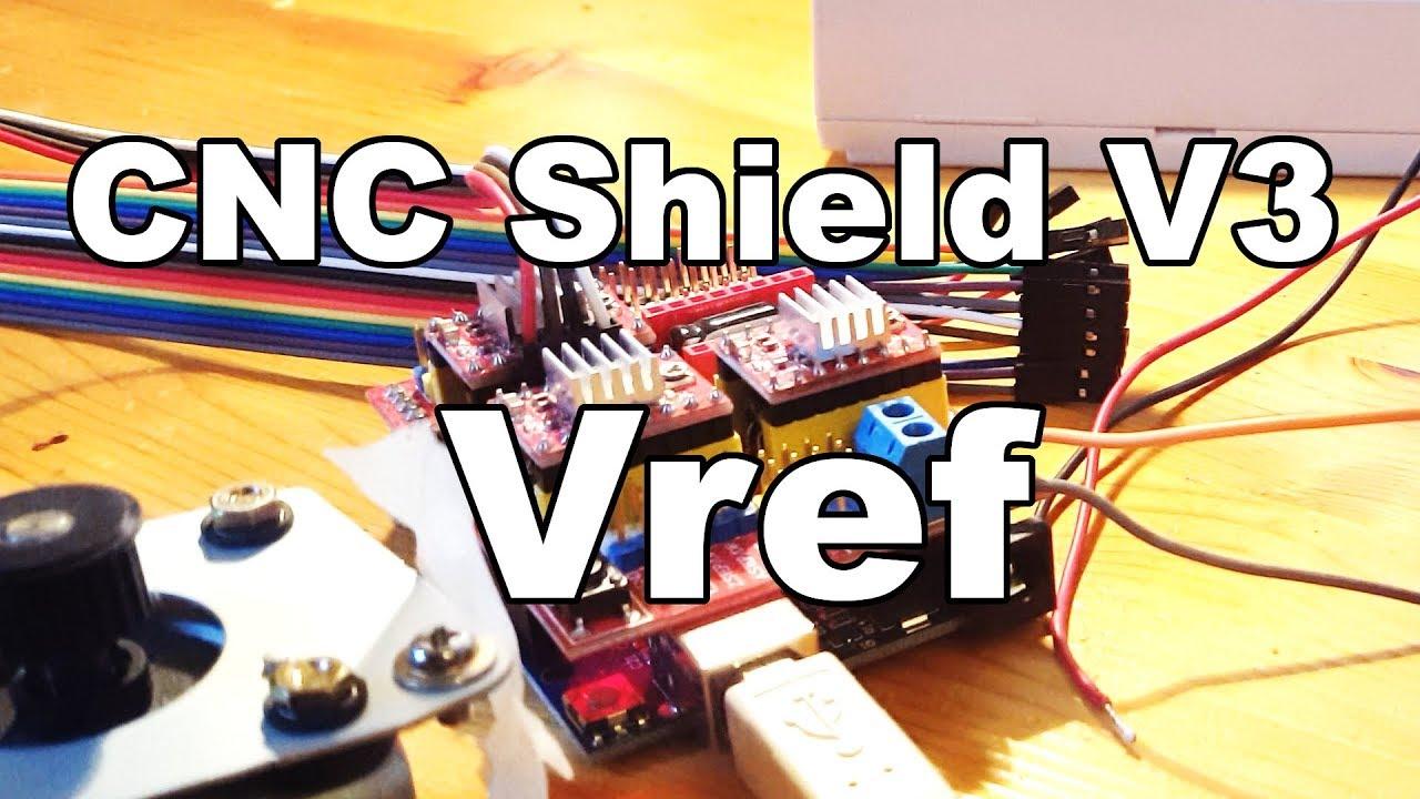 Vref - CNC Shield V3 + A4988 Driver   Arduino UNO by TimeWave