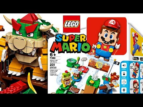 More LEGO Super Mario 2020! LEGO Bowser's Castle Set And... PRICES. 😳