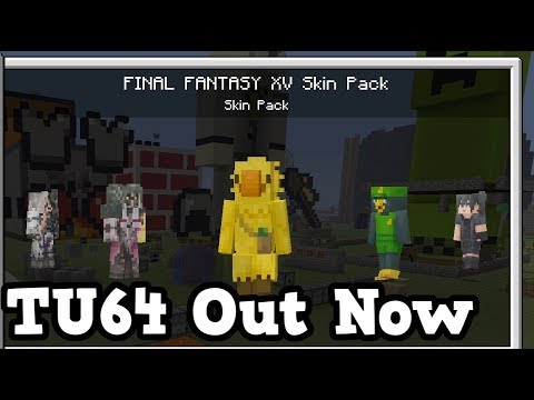 Minecraft Xbox 360 / PS3 - TU64 OUT NOW Ft. FFXV Chocobos
