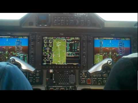 Phenom 100 ILS 23R Approach to Indianapolis