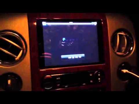 IPad Mini In F-150 Dash