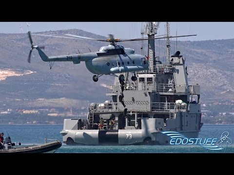 Adriatic Sea Defense & Aerospace 2015 - Croatian Armed Forces Demo