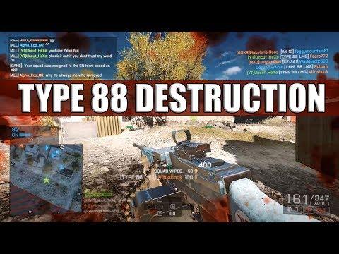 TYPE 88 LMG Destruction | PC | MVP on Golmud Railway | 42-1
