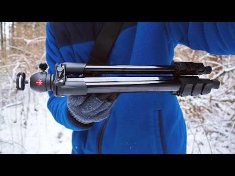Manfrotto Compact Light Tripod First Look And Info (MKCOMPACTLT)