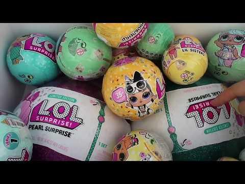 Annemden Gizli Çakma LOL Bebek Açıyorum LOL Pearl Surprise Yumurta Bidünya Oyuncak