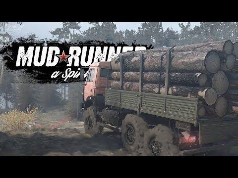 Sehr idyllisch! -  MUDRUNNER   Lets Play MudRunner a Spintires Game