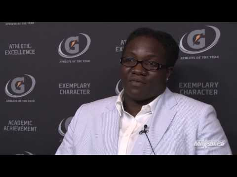 Raven Saunders Interview - Gatorade Player of the Year Awards