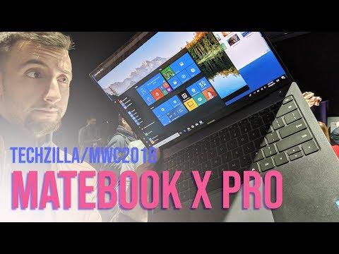 Il notebook DEFINITIVO? Anteprima Huawei Matebook X Pro - MWC 2018