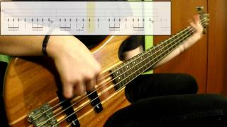 Metallica - For Whom The Bell Tolls (Bass Cover) (Play Along Tabs In Video)