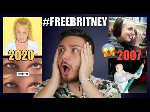 FREE BRITNEY: COS'È SUCCESSO A BRITNEY SPEARS? ECCO LA SUA STORIA DAL 2007 AD OGGI (2020) !!!