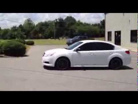 18 Inch Msr Wheels On 2013 Subaru Legacy Youtube