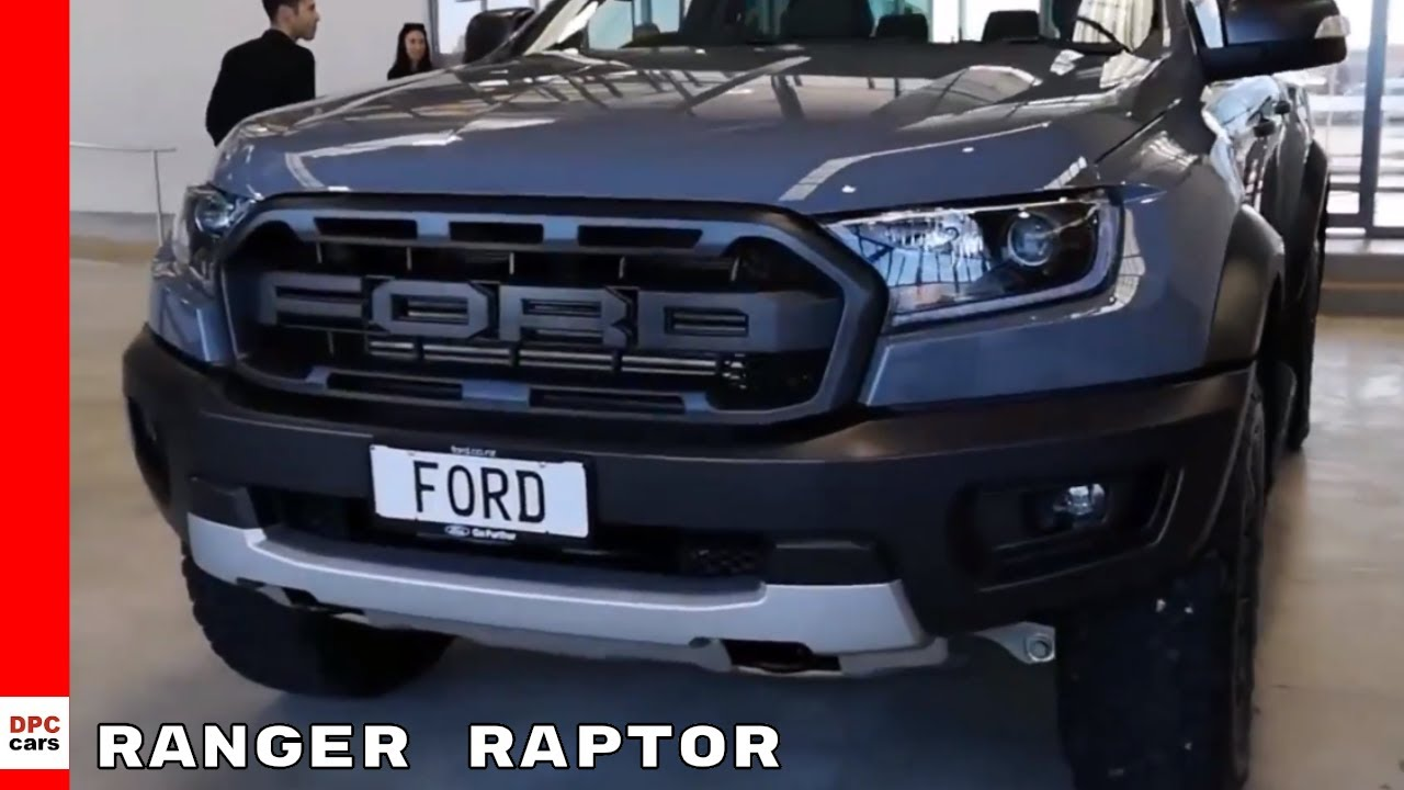 2019 Ford Ranger Raptor Walkaround - YouTube