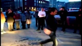 Ингуши танцуют лезгинку  Новосибирск(VAINACH.RU). ЧАСТЬ II
