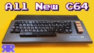 World's 1st All New Commodore 64 | Ultimate 64 + new keycap kit