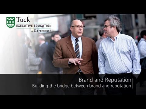 Professor Paul Argenti Discusses the Tuck Brand & Reputation Program
