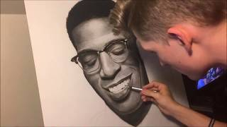 Kid Cudi Timelapse Drawing