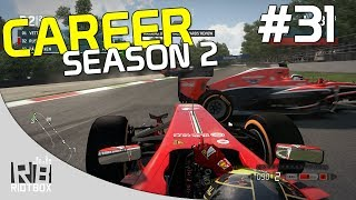 F1 2013 Career Mode Walkthrough Season 2 Ferrari - Part 31 - Italy Monza [PC Gameplay]