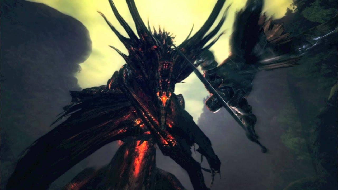 Dark Souls Ost Black Dragon Kalameet Extended Youtube