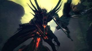 Repeat youtube video Dark Souls OST-Black Dragon Kalameet-Extended