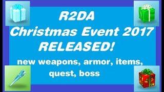 ROBLOX R2DA - Christmas Event 2017 Released!