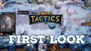 Smite Tactics Gameplay | First Look