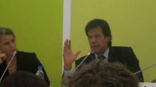 Imran Khan in Berlin