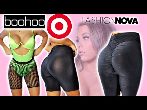 Do Flattering Biker Shorts Exist? | Try on Review from YouTube · Duration:  15 minutes 34 seconds