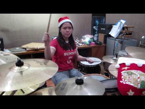 Lagu Natal Medley (drum cover)