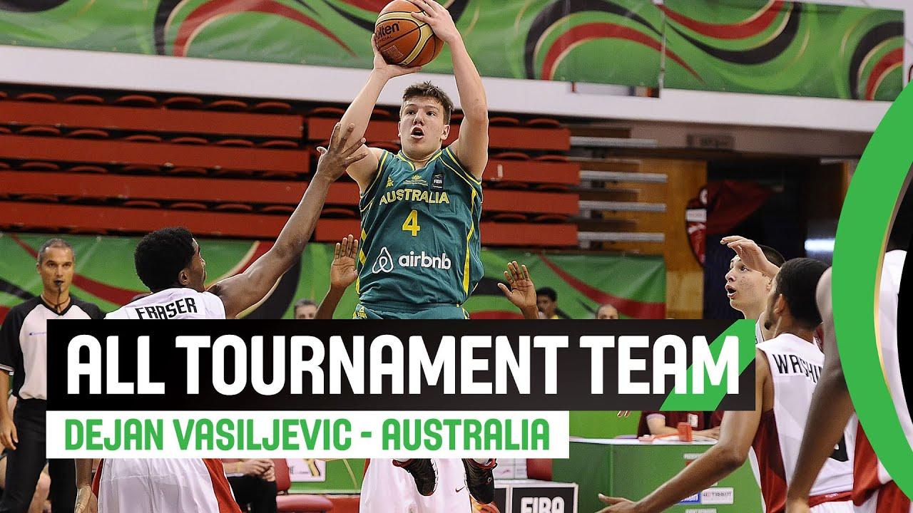 All tournament team - Dejan Vasiljevic (AUS)
