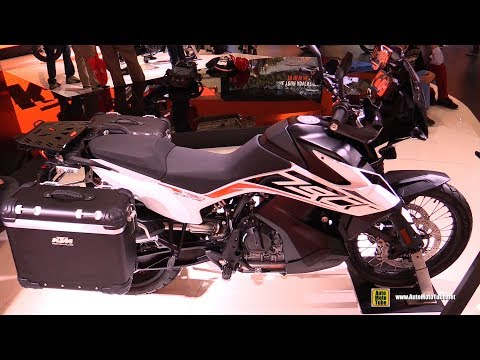 KTM  Adventure - Walkaround - Debut at  EICMA Milan