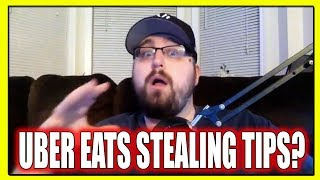 Is UBER EATS REALLY STEALING TIPS from DRIVERS? This Might SHOCK YOU! (UBER EATS DRIVER)